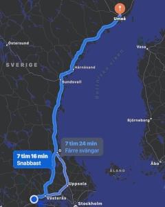 Flytt från Örebro till Umeå